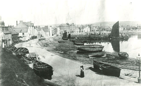 Fishing boats in Stonehaven Harbour