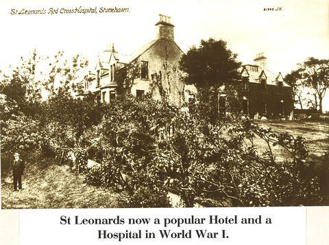 St Leonards Hotel, a Red Cross Hospital in World War 1