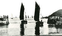 Sailing boats in the harbour