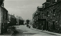 The High Street looking towards Dunnottar Avenue