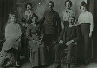 A family group in the early 1900s