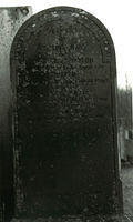 Gravestone in memory of Joseph Craig and Christina Taylor