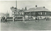 Bowling and Tennis on the Recreation Grounds