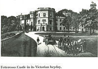 Fetteresso Castle in its Victorian heyday