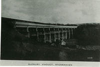 Glenury Viaduct, with Minerwell Croft beneath