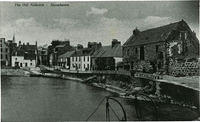 A view of the harbour with the Tolbooth on the right.