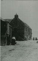An early photo of the Tolbooth at the harbour