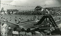 A busy day at the Open Air Pool