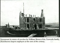 Viewmount under construction 1881