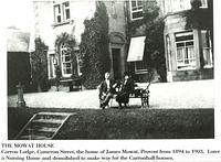 Carron Lodge, Cameron Street - Home of James Mowat, later became a nursing home
