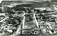 Aerial view of Stonehaven before 1950