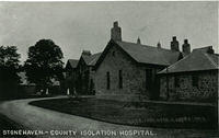 Stonehaven County Isolation Hospital, later Arduthie Hospital, then the site of  Kincardineshire Community Hospital