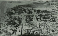 Aerial view of Stonehaven