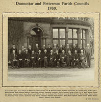 Dunnottar and Fetteresso Parish Councils 1930 at Viewmount
