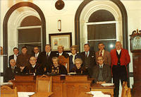 Council Officials 1975