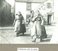 Fishwives off to work