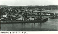 Stonehaven Harbour about 1880