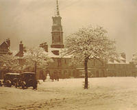 Market Square in the snow
