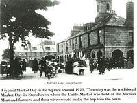 Market Day in the Square around 1920